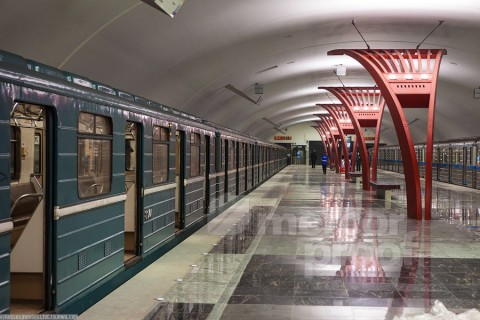 Станция метро Алма-атинская 2