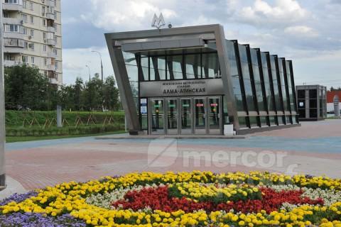 Станция метро Алма-атинская 3