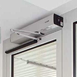 Система приточной вентиляции GEZE RWA AUT