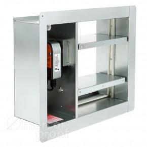 Многолопаточное (лифтовое) стеновое исполнение с изолированным приводом mrc FID-С2