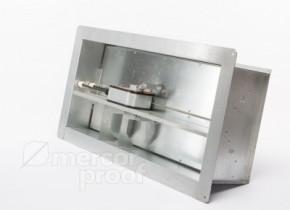 Нормально закрытый клапан стенового типа mrc FID-С2 (в многолопаточном (лифтовом) исполнении с изолированным приводом)